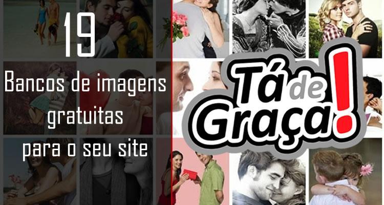 19 bancos de imagens gratuitas para o seu site
