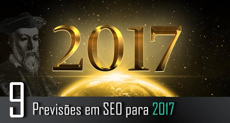 9 Previsões em SEO para 2017