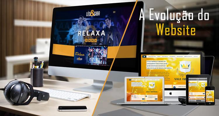 A Evolução do Website
