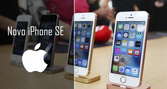Apple lança novo smartphone, iPhone SE
