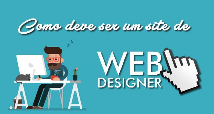 Como deve ser um site de web designer