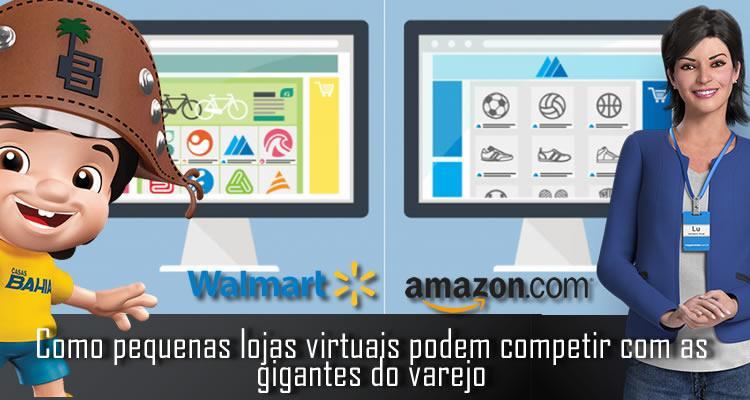 Como pequenas lojas virtuais podem competir com as gigantes do varejo