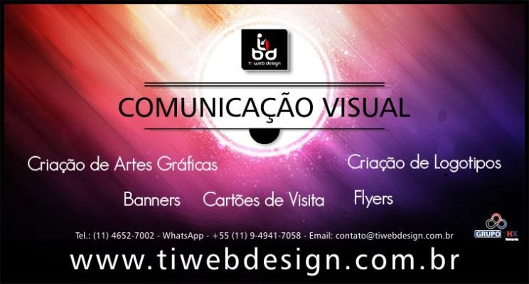 Comunicação visual. Já conhece nossa Criação de Artes Gráficas ?