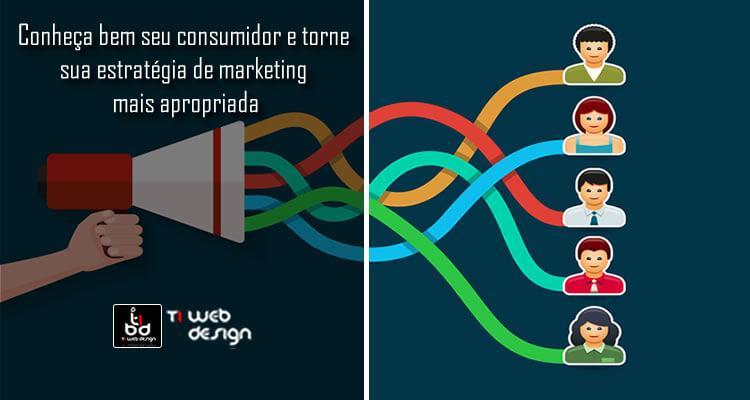 Conheça bem seu consumidor, e torne sua estratégia de marketing mais apropriada.