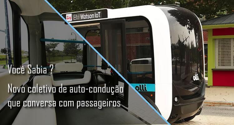 Conheça Olli, o ônibus de auto-condução que conversa com passageiros