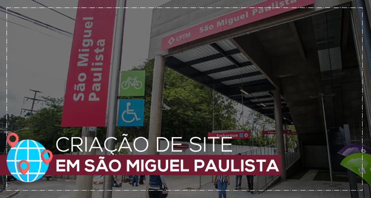 Criação de site em São Miguel Paulista