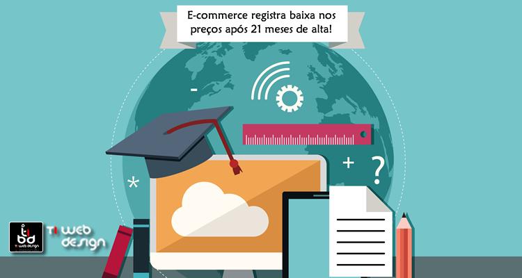 E-commerce registra queda nos custos após 21 meses de alta