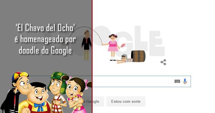 El Chavo del Ocho é homenageado por doodle do Google