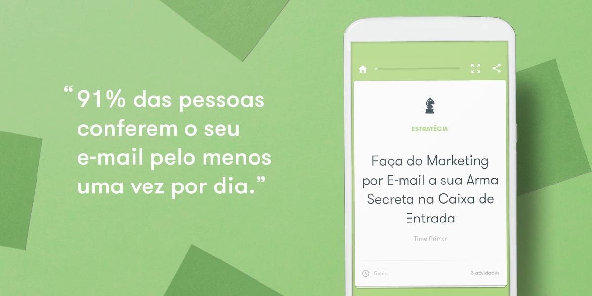Faça do Marketing por E-mail a sua Arma Secreta na Caixa de Entrada