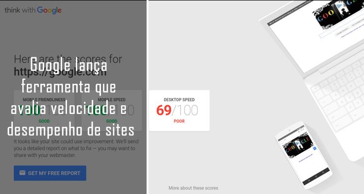 Google lança ferramenta que avalia velocidade e desempenho de sites