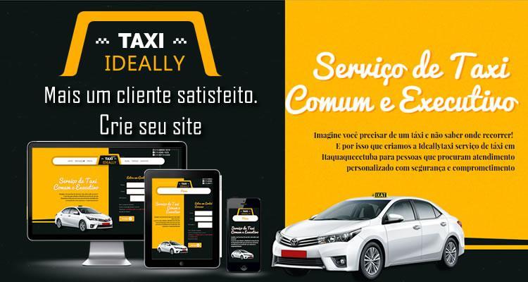 Ideal Taxi. Mais um Cliente Satisfeito