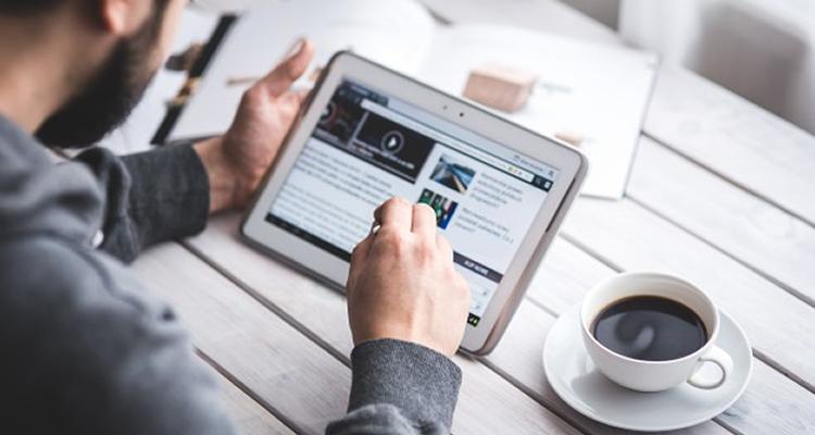 Necessidade de criação de site criativo para promover negócios