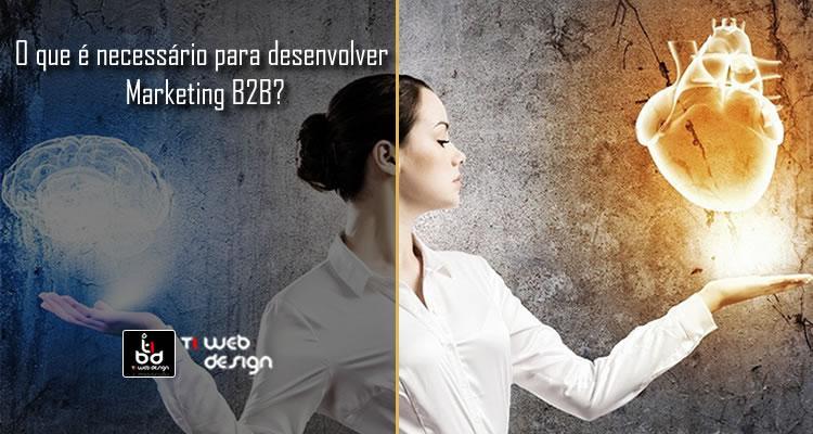 O que é necessário para desenvolver Marketing Digital B2B?