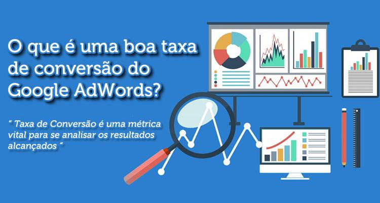 O que é uma boa taxa de conversão do Google AdWords?