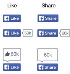 Pela primeira vez, Facebook muda visual do famoso botão Curtir