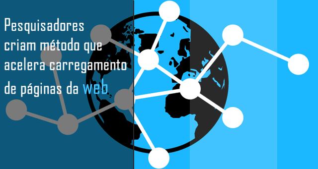Pesquisadores criam método que acelera carregamento de páginas da web