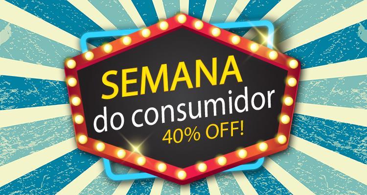 Semana do Consumidor - Criação de Sites com  40% de Desconto
