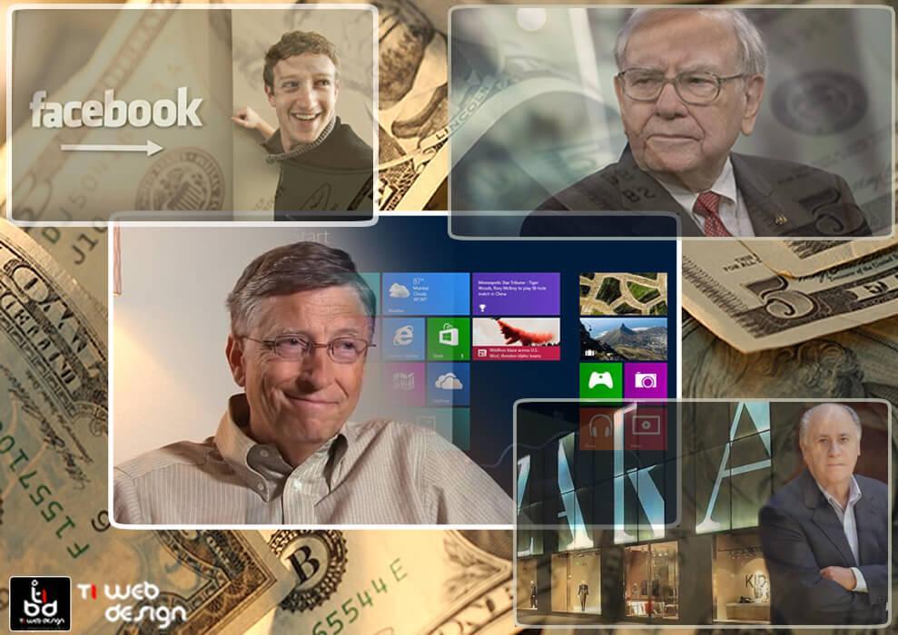 Você Sabia, Quais São os Homens Mais Ricos do Mundo?