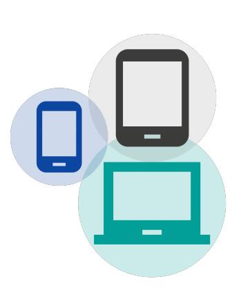 Tornar possível que os usuários finalizem a ação em qualquer outro dispositivo, mesmo iniciada pelo celular