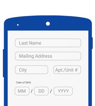 O Design dos formulários é importante. É fundamental que seja curto e fácil de ler