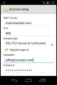 Tutorial sobre Como configurar uma conta de Email em seu dispositivo Android - Imagem Tutorial 6