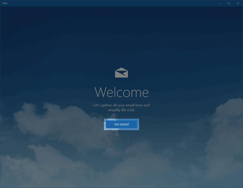 Configurar seu e-mail Profissional no Windows 10
