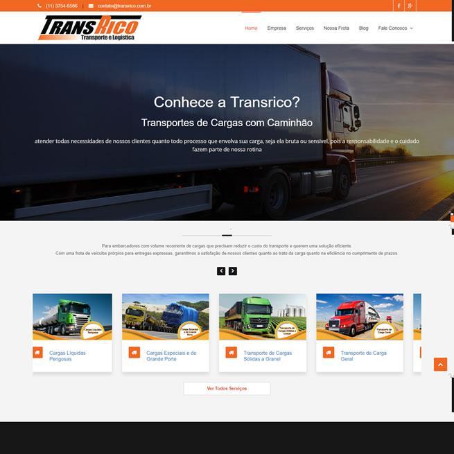 Transrico - Transporte e Logística