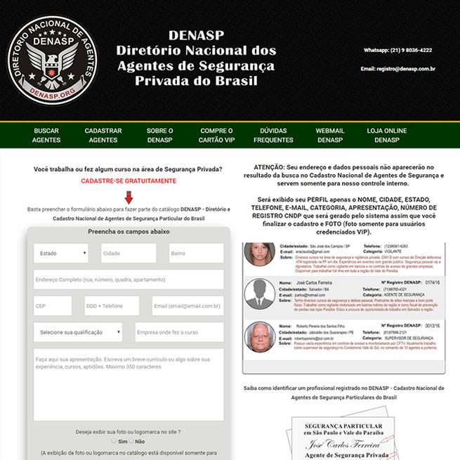 Diretório Nacional dos Agentes de Segurança Privada do Brasil