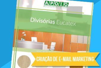 Criação de email Marketing