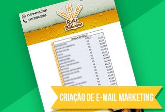 Criação de email Marketing 4