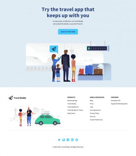 Criação de Site OnePage 6